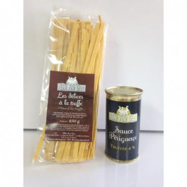 Promo Pâtes + Sauce Périgueux