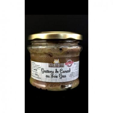 Lot de 2 Grattons au foie gras