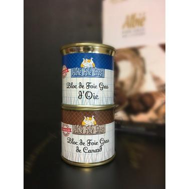 Duo Bloc de foie gras 100g