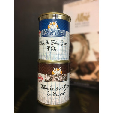 Duo Bloc de foie gras 130g