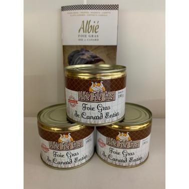 Trio Foie gras de canard...